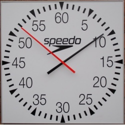 Pace Clock  open face